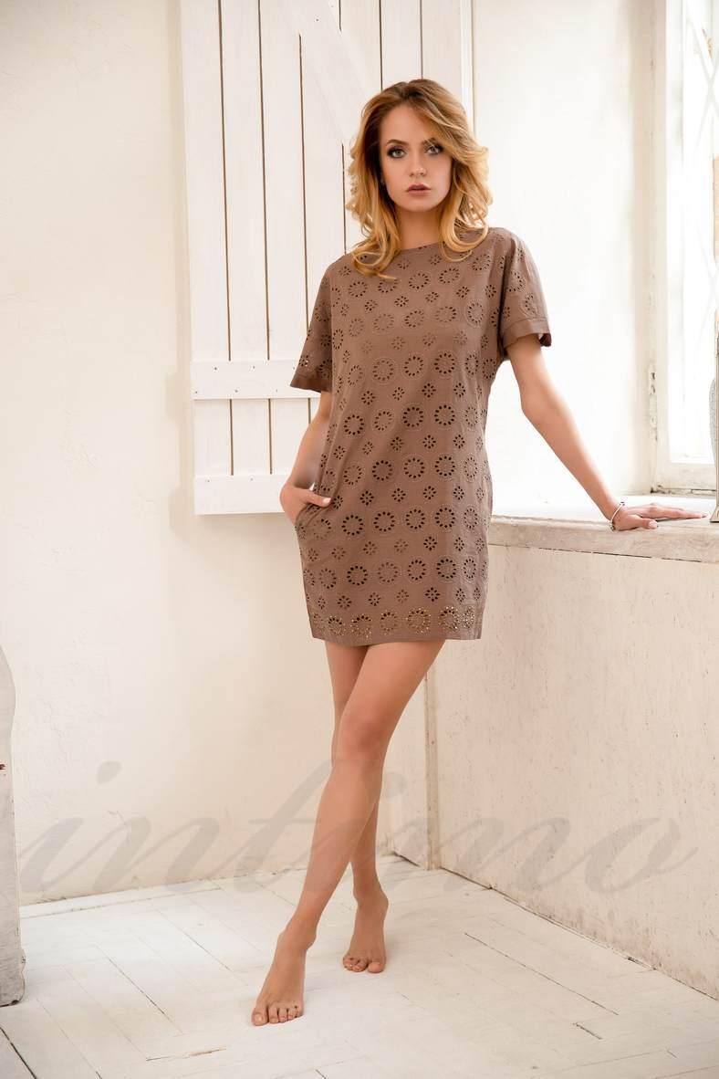 Коричневые платья, 23998, код 23998, арт 400122