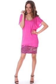 Рожеві пляжні сукні, 34346, код 34346, арт A468-A1C
