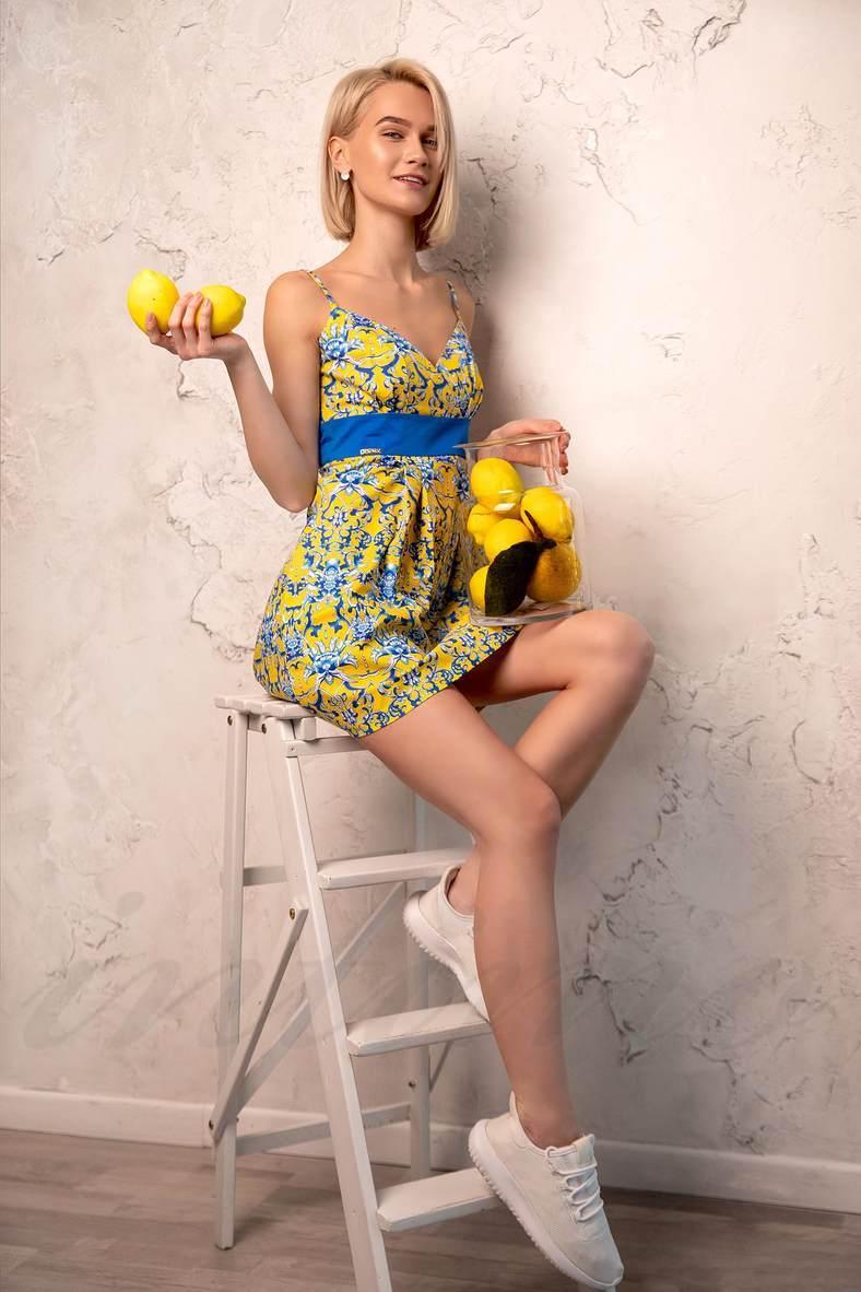 Платья с завышенной талией для полных, 39436, код 39436, арт 700101