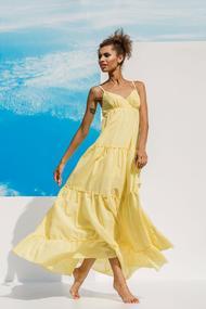 Хлопковые платья на лето, 51814, код 51814, арт 18018-P