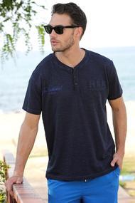 Мужские футболки синего цвета, 52069, код 52069, арт E185349