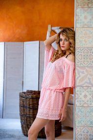 Рожеві пляжні сукні, 52190, код 52190, арт 85477