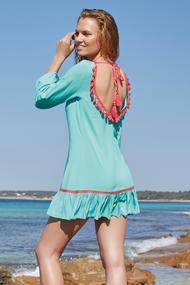 Платья, туники, халаты с открытой спиной, 52202, код 52202, арт 85399