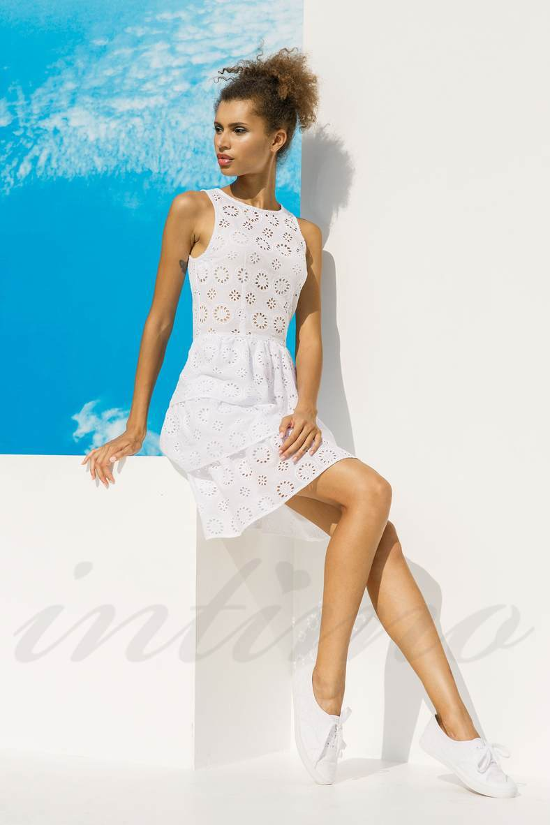 Сукні, туніки, халати без рукавів, 52411, код 52411, арт 18010-P