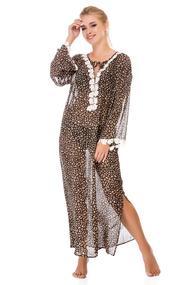 Леопардовые пляжные туники, 52811, код 52811, арт 7517-2