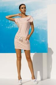 Трикотажное платье, 53375, код 53375, арт 18031-P
