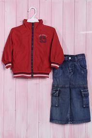Костюмчик для мальчика: курточка и штаны, хлопок, код 56648, арт 207