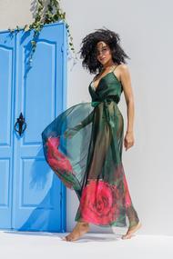 Довгі пляжні сукні, 57060, код 57060, арт 19050-Р