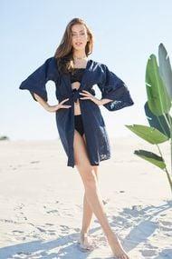 Пляжные халаты из хлопка, 61216, код 61216, арт 20109