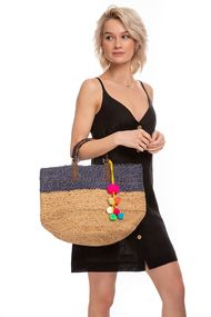 Пляжна сумка в смужку, 61996, код 61996, арт Triest