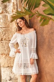 Белые кружевные платья, 63647, код 63647, арт DB21-002