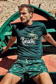 Зелені чоловічі футболки, 63730, код 63730, арт DM21-17