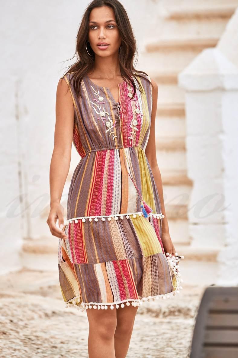Пляжна сукня із шифону, 63958, код 63958, арт IC21-054