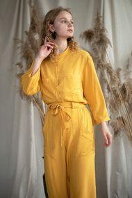 Желтые пижамы женские, 64137, код 64137, арт Sil-022