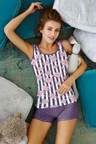 Фіолетова піжама, 64553, код 64553, арт 6213-2