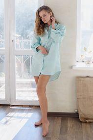 Ночные рубашки с длинным рукавом, 65812, код 65812, арт Sil-052