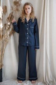 Льняная пижама, 65814, код 65814, арт Sil-031