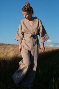 Льняная пижама, 66104, код 66104, арт Sil-001