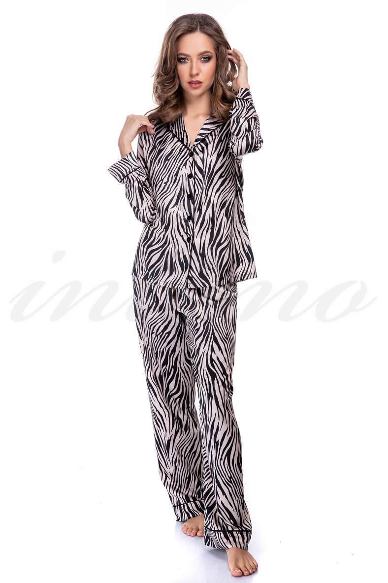 Жіночі леопардові піжами, 66515, код 66515, арт 3127