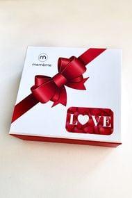 Набор трусиков стринг Love-box (4 шт.), код 68678, арт Valentine box-string