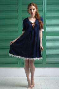 Кружевные пляжные платья, 69047, код 69047, арт 132