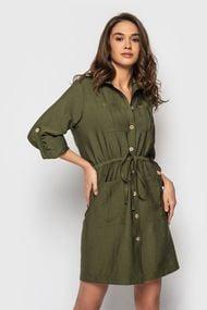 Плаття зелені короткі, 70336, код 70336, арт GV-21010