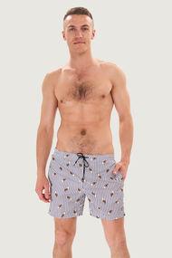 Мужские пляжные шорты с рисунком, 72041, код 72041, арт 98388