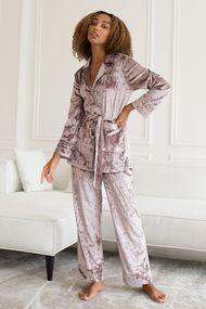 Комплект: халат і брюки, код 73993, арт GV-21049