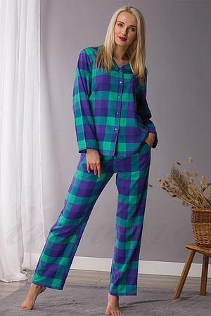 LNS 440 B21 Піжама жіноча (футб.довг.рук.,брюки) (2 шт) Key, Польша LNS 440 B21 фото