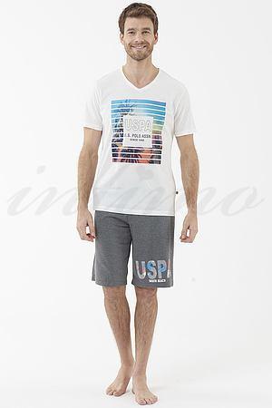 Комплект: футболка и шорты U.S. Polo ASSN, США 18430 фото