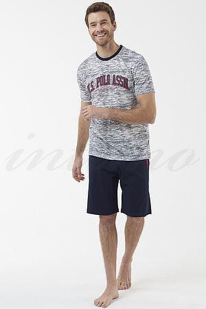 Комплект: футболка и шорты U.S. Polo ASSN, США 18426 фото