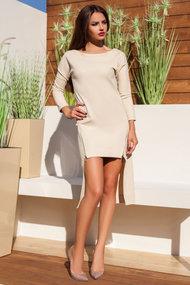 Плаття тілесного кольору, 45466, код 45466, арт 800140