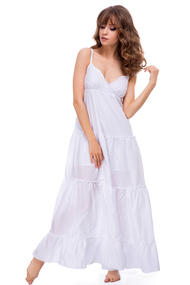 Белые платья в пол, 51814, код 51814, арт 18018-P