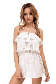 Платья, туники, халаты с открытыми плечами, 55994, код 55994, арт 19069-Р