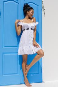 Белые пляжные платья, 57446, код 57446, арт 19011-Р
