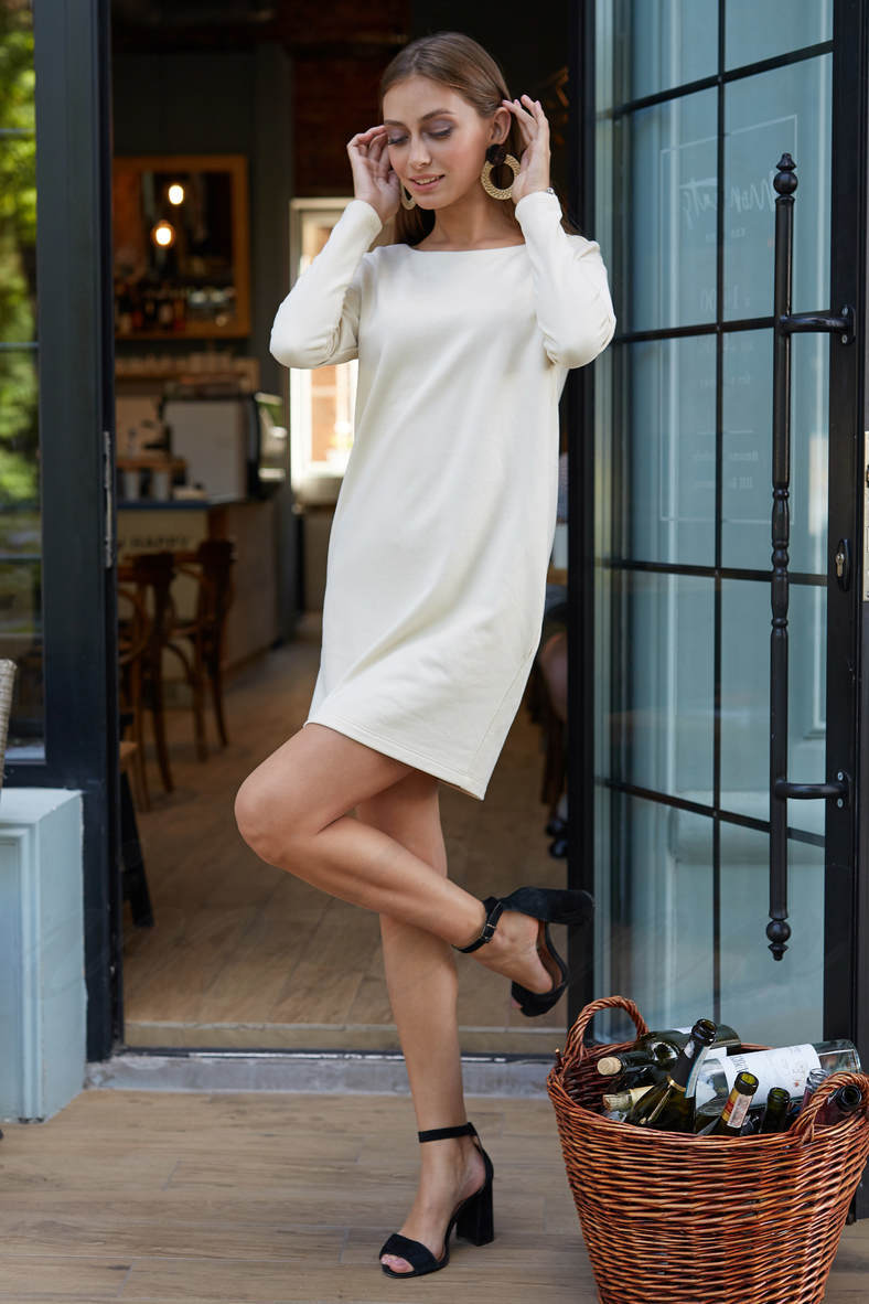Платья телесного цвета, 60180, код 60180, арт 20055-Р
