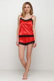 Червоні жіночі піжами, 62340, код 62340, арт F50070
