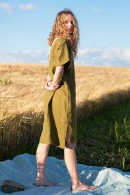 Зеленые платья, 63244, код 63244, арт Sil-009