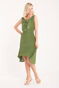 Плаття зелені короткі, 63862, код 63862, арт IC21-060