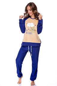 Жіночі флісові піжами, 64437, код 64437, арт 54580