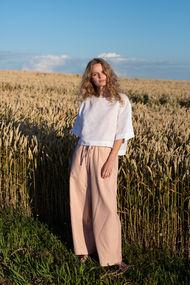 Рожеві брюки, шорти, комбінезони, 64669, код 64669, арт Sil-017