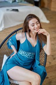 Синяя пижама, 69352, код 69352, арт 100632-Р