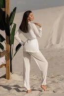Комплект: топ, брюки и кардиган Ora 70147 - фото №11