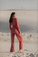 Комплект: топ, брюки и кардиган Ora 70147 - фото №5