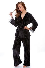 Велюровые пижамы, 70686, код 70686, арт Sil-127