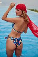 Купальник с мягкой чашкой, плавки бразилиана Anabel Arto 71458 - фото №1