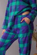 LNS 440 B21 Піжама жіноча (футб.довг.рук.,брюки) (2 шт) Key 74231 - фото №2