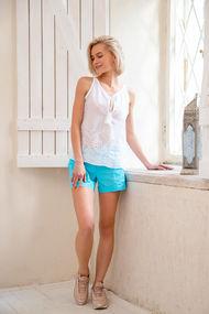 Синие и голубые брюки, шорты, комбинезоны, 18700, код 18700, арт 300107